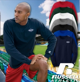 Russell Athletic Long Sleeve Crewneck T-Shirt