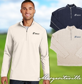 Margaritaville 1/4 Zip Cotton Sweater