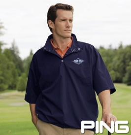 Ping Short-Sleeve Pullover Windshirt