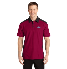PORT AUTHORITY SILK TOUCH COLORBLOCK POLO
