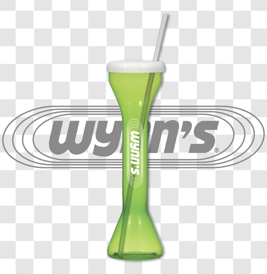 Wynn's 18 oz. Yard Cup w/ Straw